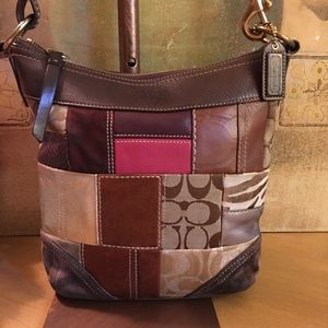 Coach Vintage Patchwork Leather Crossbody Bag